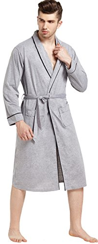 MIEDEON Mens Flannel Cotton Bathrobe product image