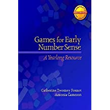 Games for Early Number Sense: A Yearlong Resource