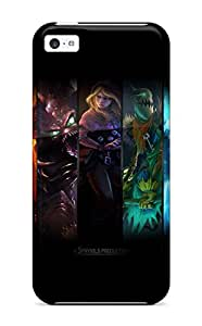 GazDEAR9185YfmQx Case Cover League Of Legends Iphone 5c Protective Case