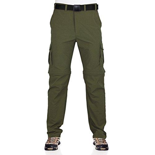 Zip Off Pants Olive - 9