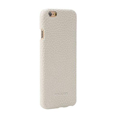 Beyzacases BZ07247 Feder Hülle für Apple iPhone 6/6S beige