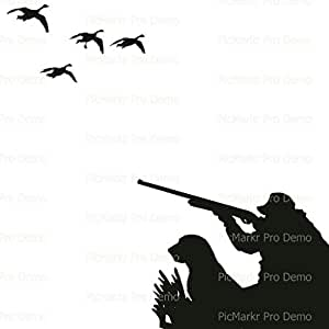 Sheet - Duck Hunting - Edible Cake/Cupcake Party Topper!!!: Amazon