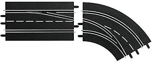 Carrera Digital 124/132 Lane Change Right Curve, Out to in