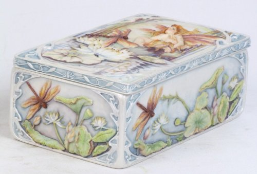 - Jody Bergsma Wild Magic Fairy Jewelry Box Resin Keepsake