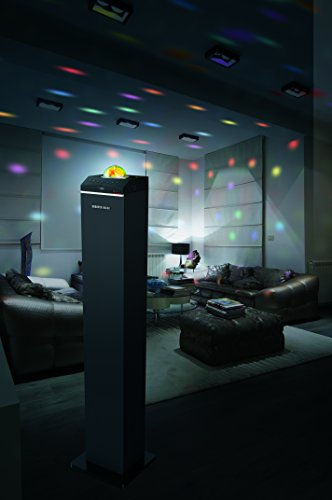 Sharper Image Sbt1010 Bluetooth Led Disco Ball Tall Tower Import