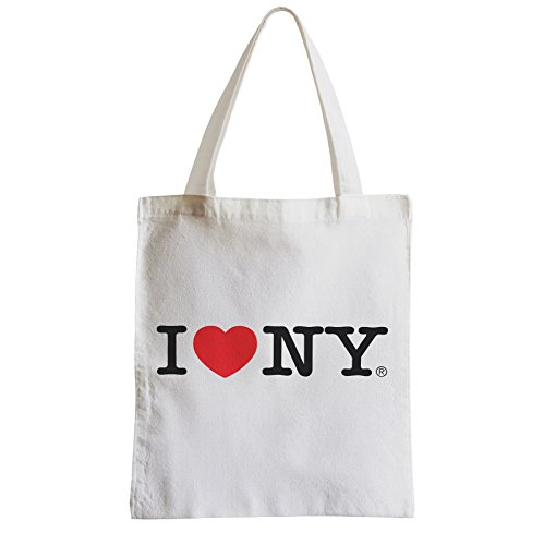 Große Tasche Sack Einkaufsbummel Strand Schüler I Love New York