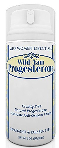 Wise Essentials Wild Yam & Progesterone Cream - Bio-identical - Non Toxic With Chaste Tree Berry -For Menopause and Mid life Changes. 3 oz - Paraben Free -Fragrance Free - Doctor Recommended