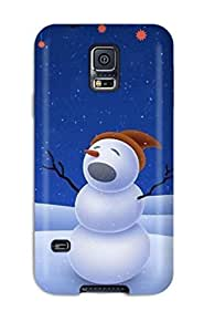 Frances T Ferguson Fashion Protective Cool Xmas Song Case Cover For Galaxy S5