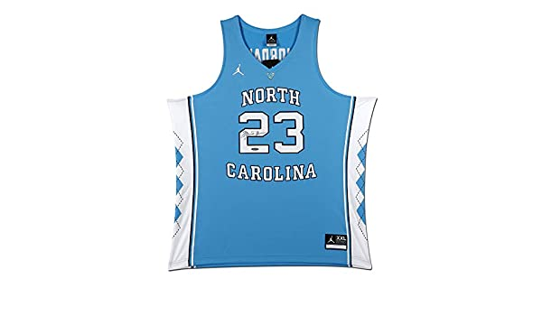 88fecee307b MICHAEL JORDAN NORTH CAROLINA BLUE NIKE JERSEY at Amazon's Sports  Collectibles Store