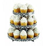 Wilton Damask Borders Cupcake Stand