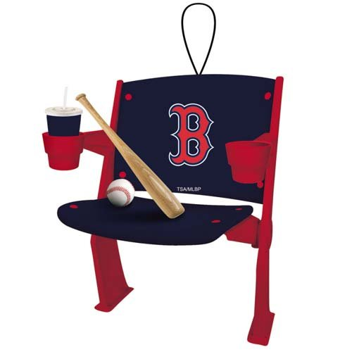 Evergreen Enterprises Stadium Chair Ornament Boston Red Sox ()