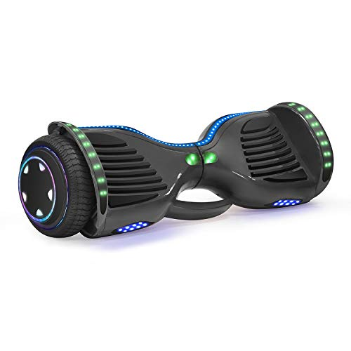 King Sports Patent Pending Built-in Carry Handle Black Hoverboard UL2272 Certified Electric Scooter