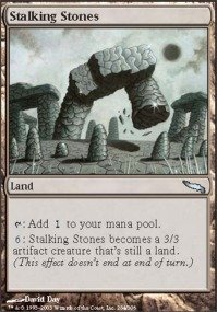 Stalking Stones - Magic: the Gathering - Stalking Stones - Mirrodin