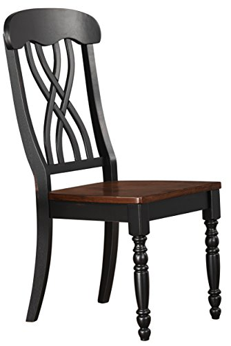 Homelegance Ohana Dining Chair (Set of 2), Black
