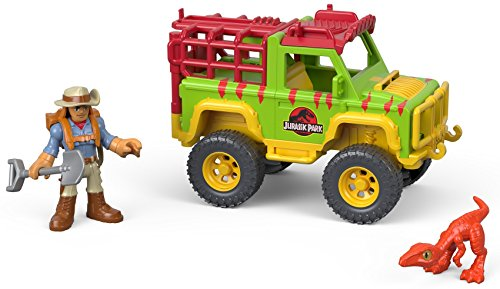 Fisher-Price Imaginext Jurassic World, Dr. Grant & 4x4