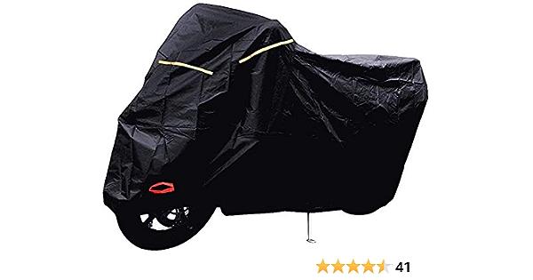 XXL Heavy Duty Waterproof Motorcycle Cover Cruiser Touring Road Bike Rain Dust A