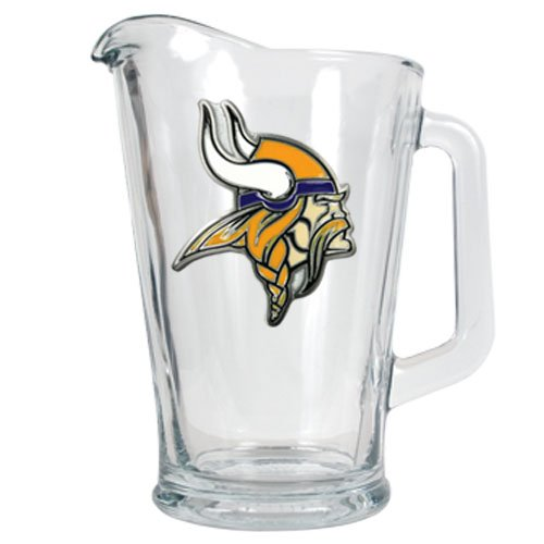 NFL 60-Ounce Glass Pitcher - Primary Logo