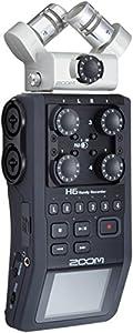 zoom h6 six track portable recorder musical instruments. Black Bedroom Furniture Sets. Home Design Ideas