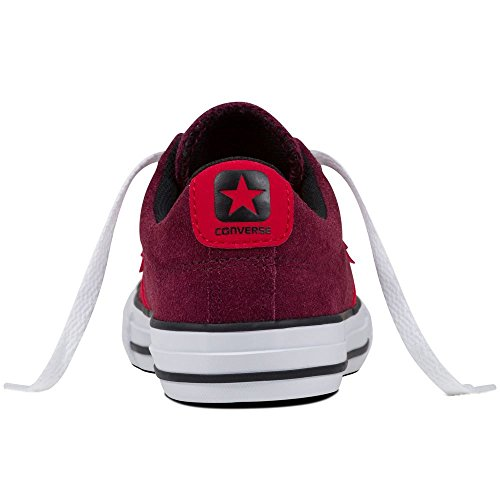 Zapatilla Converse jr Star Player EV Deep Bordeaux-Casino-White Rojo