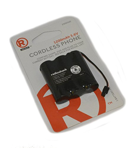 RadioShack 3.6V/1200mAh Ni-MH Cordless Phone Battery