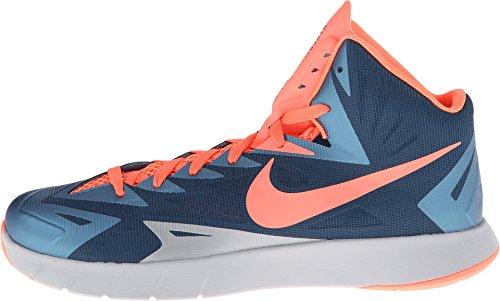 Nike Lunaire Hyperquickness Hommes Formateurs 652777 Espadrilles Chaussures Espace Bleu / Lumineux Mangue