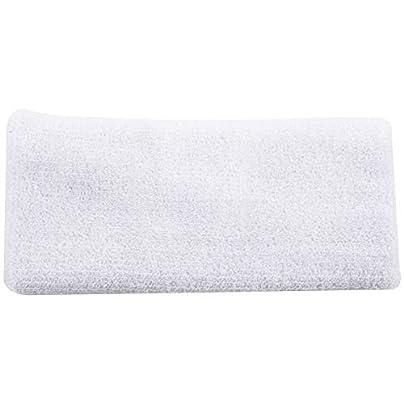 WOVELOT Sports Cotton Basketball Long Wristband Elbow Guard Pad Sweat Band Sports White Estimated Price £1.62 -