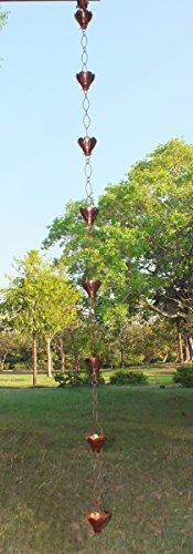 Monarch Pure Copper Sakura Rain Chain