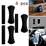 6 pcs Nano Multi Purpose Sticky Gel Pad, Sticky Phone Holder for Car