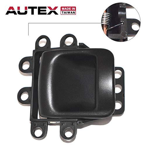 - AUTEX Door Handle Interior Front/Rear Right Passenger Side Compatible with Dodge Durango 1998 1999 2000 Replacement for Dodge Dakota 00 Door Handle 81635 RZ121AZAA