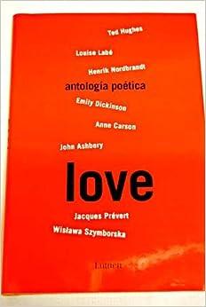 Book Love Antologia Poetica/ Love Antology (Poesia)