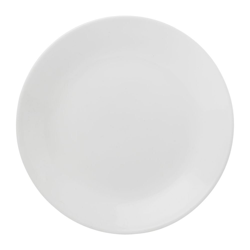EKCO 6-3/4'' Corelle Livingware White Bread and Butter Plate Sold in packs of 6
