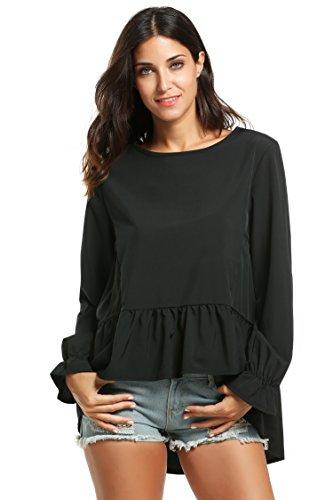 Black Dressy Blouse Breeze Clothing