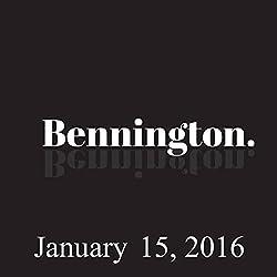 Bennington, January 15, 2016