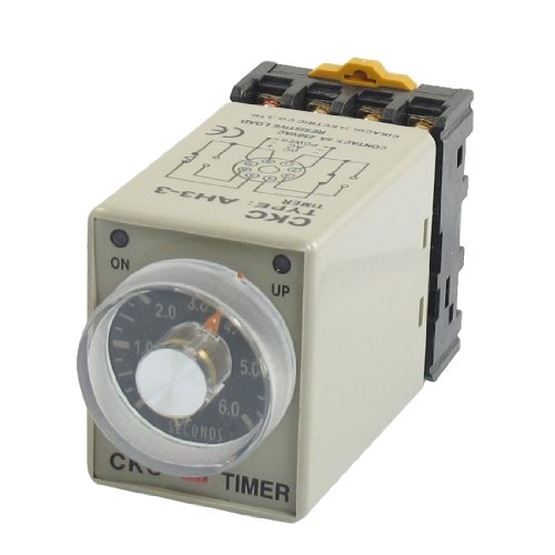 uxcell-ah3-3-ac-24v-0-6s-6-sec-timer-power-on-delay-time-relay-8-pin-w-base