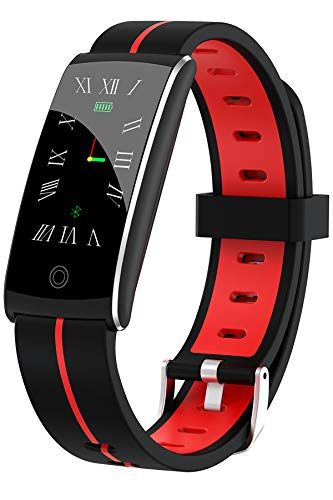 Fitness Tracker,Activity Tracker Watch,Smart Watch Heart Rate Sleep Monitor Blood Pressure Blood Oxygen Pedometer IP68 Waterproof Smart Bracelet