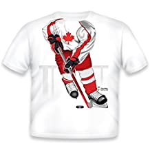 Just Add A Kid Little Boys' Hockey Forward Canada T-Shirt