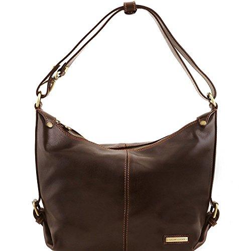 Tuscany Leather Sabrina - Borsa in pelle da donna - TL141479 (Marrone) Testa di Moro