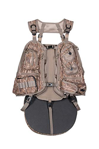 Knight & Hale Run-N-Gun 300-BL Turkey Vest - Mossy Oak Bottomland