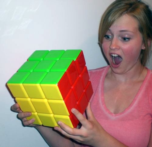 Large Rubiks Cube - Giant Puzzle Cube 7 Inch Sides