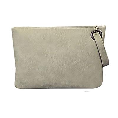 Mily Oversized Clutch Bag Purse Envelop Clutch Chain Tote Shoulder Bag Handbag Foldover Pouch