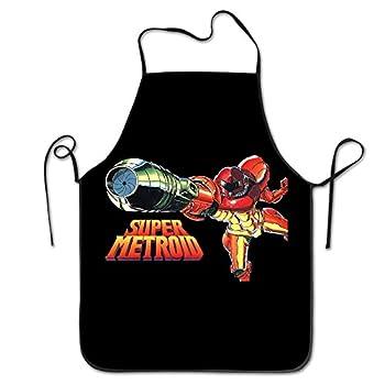 Super Metroid Cooking Kitchen Bib Aprons