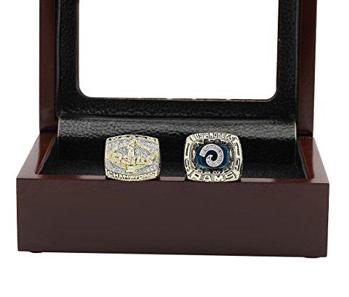 Super Bowl Championship Ring Fan Rings Display Box Set (St. Louis Rams, 11) by kickoff101