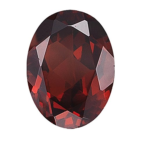 3.02 Cts of 10x8 mm Oval Loose Garnet (1 pcs ) Gemstone