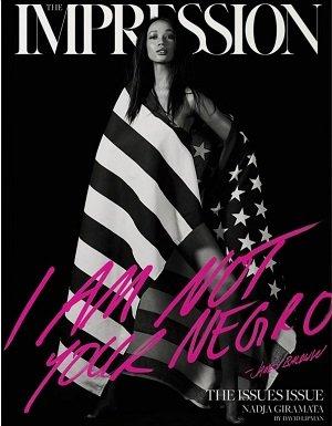 Impression Magazine Issue No.04 Cover : Nadja Giramata + Magazine Cafe Bookmark ebook