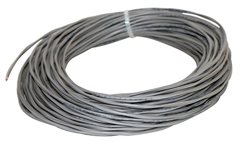 West Penn Wire 224 18/2 Commercial Audio Speaker Cable (100 Feet, Grey)