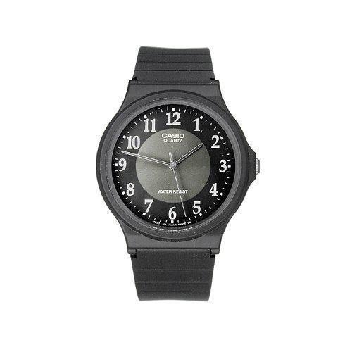 Casio Men's MQ24-1B3LL Black Casual Analog Watch