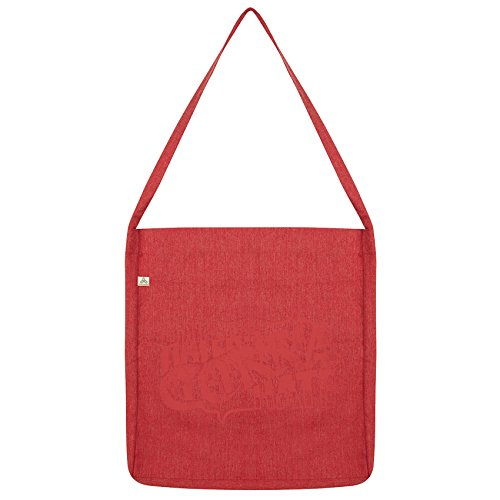 Twisted Envy Haters Gonna Hate Tote Bag Red