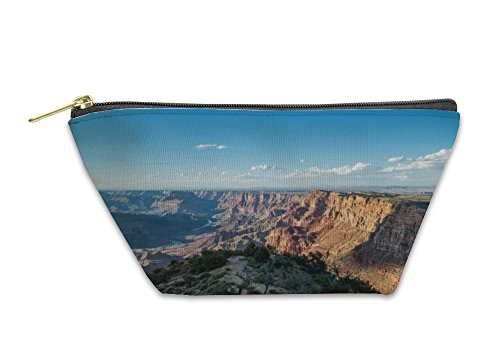 Gear New Accessory Zipper Pouch, The Grand Canyon National Park South Rim At Desert Viewpoint During Sunset, Large, 5602963GN