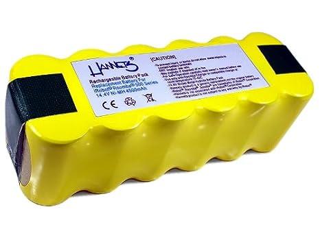 Batería Hannets® compatible con iRobot Roomba 555 I Batería i-Robot Batería Roomba Batería Aspiradora robotizada I Roomba 555 Accesorios 4500mAh ...