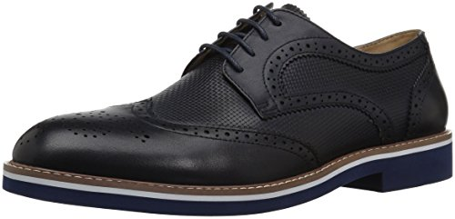 One Northfield Light (English Laundry Men's Northfields Oxford, Navy, 8 M US)